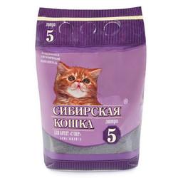 """Сибирская кошка """"Супер"""" для Котят комкующийся, 5л"""