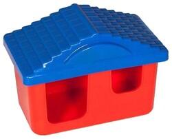 Домик для грызунов пластик 11х8х7см (арт.3213)