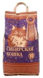 "Сибирская кошка ""Супер"" комкующийся, 10кг"