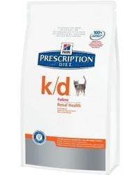 Хилс для кошек. Диета 5кг K/D - лечение почек