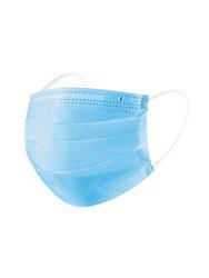 Маска защитная одноразовая, трехслойная с фиксатором для носа, 10шт (не медицинс