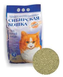"Сибирская кошка ""Прима"" комкующийся 10л"