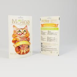 Молина лакомство для кошек 80гр - Куриные кусочки