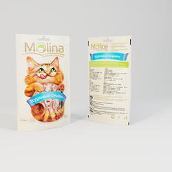 Молина лакомство для кошек 80гр - Куриный сэндвич