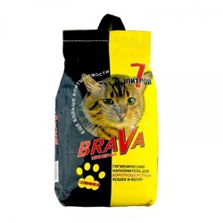 Брава 7л для Короткошерстных кошек - Желтый