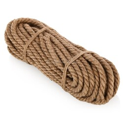 Веревка джутовая d=6мм (5 м.п)