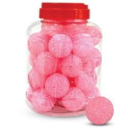 """Игрушка 3809 для кошек """"Мяч зернистый"""", розовый, d41мм"""