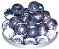 Грунт стеклянный №39 - Сиреневый круглый (50шт)