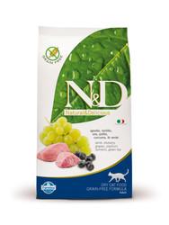 N&D - Ягненок и Черника, 1,5кг (беззерновой корм для кошек)