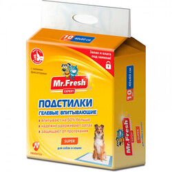 Пелёнки Mr.Fresh Expert Super 40х60см (10шт)