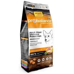 ПроБаланс 15кг + 2кг Макси для собак крупных пород