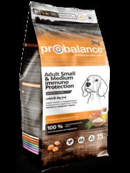 ПроБаланс 15кг для собак Мелких и Средних (ProBalance)
