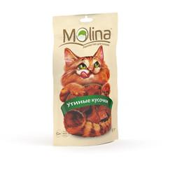 Молина лакомство для кошек 80гр - Утиные кусочки