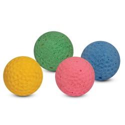 Мяч для гольфа одноцветный 4см, Triol (арт.03)