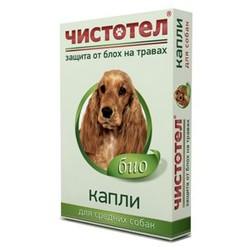 Чистотел, репеллентные капли для собак средних пород