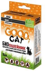 """Ошейник репеллентный для котят и кошек """"Гуд Кэт"""" 35см Черный (Good Cat)"""