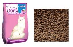 Дарси для кошек Рыба (1кг)
