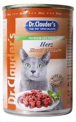 Dr.Clauder консервы для кошек - Сердце 415гр
