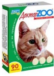 Доктор Zoo лакомство для кошек - Протеин