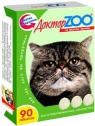Доктор Zoo лакомство для кошек - Печень
