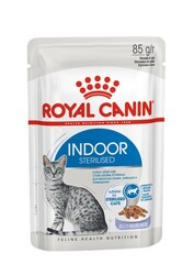Ройал Канин пауч 85гр. Индор (желе) (Royal Canin)