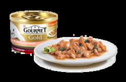 Гурме Голд 85гр - Форель и Овощи в подливке