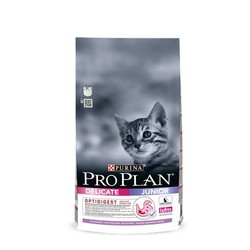 Pro Plan Kitten корм для котят, Индейка с рисом 1,5кг