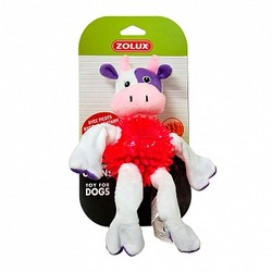 Корова 23см, плюш, хлопок, термопластичная резина (Zolux) арт.479036VAC