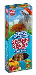 Семь Семян - палочки для кроликов и морских свинок Фрукты, 2шт