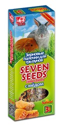 Семь Семян - палочки для грызунов Медовые, 3шт (90гр)