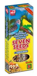 Семь Семян - палочки для попугаев Орехи, 3шт (90гр)