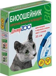 Ошейник репеллентный для кошек, Доктор Зоо (35см)