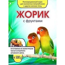 ЖОРИК для попугаев 500гр - Фрукты