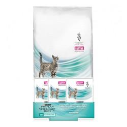 Пурина EN 1,5кг - диета для кошек с проблемами ЖКТ + паучи 3шт