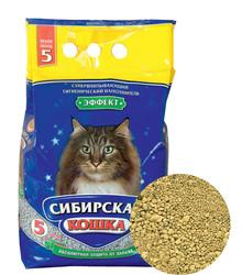 """Сибирская кошка """"Эффект"""" впитывающий 5л"""