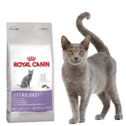 Royal Canin Sterilised 400гр - корм для стерилизованных кошек