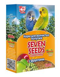 Семь семян 500гр - корм для волнистых попугаев Фрукты