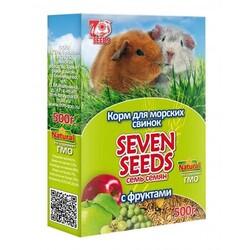 Семь семян 500гр - корм для Морских свинок Фрукты