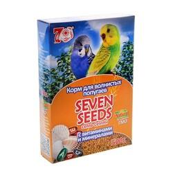 Семь семян 500гр - корм для волнистых попугаев Витамины и Минералы