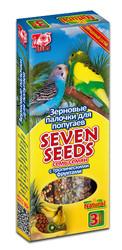 Семь Семян - палочки для попугаев Тропические Фрукты, 3шт (90гр)