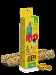 Рио палочки для волнистых попугаев и экзотов 2х40гр - Тропические фрукты (Rio)