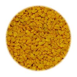 "Грунт ""Тритон"" блестящий, мелкий - Желтый 800гр"