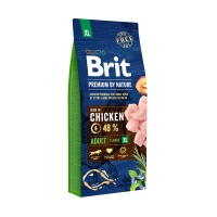 Брит 15кг для собак Гигантских пород Курица (Brit Premium by Nature)