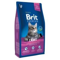 Брит Премиум 1,5кг - Курица Лайт, для кошек с избыточным весом, низкокалорийный (Brit)