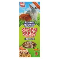 Семь Семян - палочки для грызунов Орехи, 3шт (90гр) (Seven Seeds)