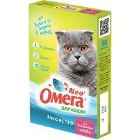 Омега NEO для кошек - Стерил, с L-карнитином, 90шт