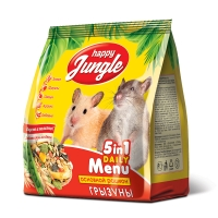 Джунгли для Грызунов 350гр (Happy Jungle)