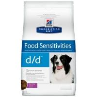 Хилс для собак. Диета 5кг D/D Дерматит/Пищевая аллергия, Утка (Hill's)