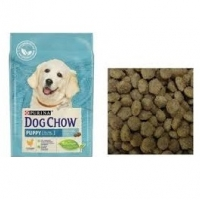 Дог Чау для щенков Курица, весовой (1кг) (Dog Chow)