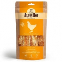 АльпенХоф для собак Средних и Крупных 80гр - Стейки из Курицы (Alpen Hof)